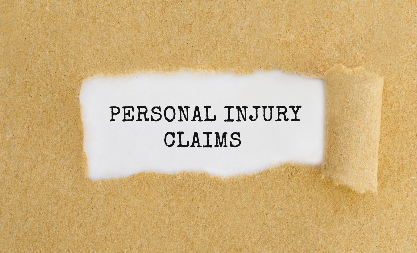 Personal Injury Claims in typed letters and if you need a personal injury attorney in Flint look here.
