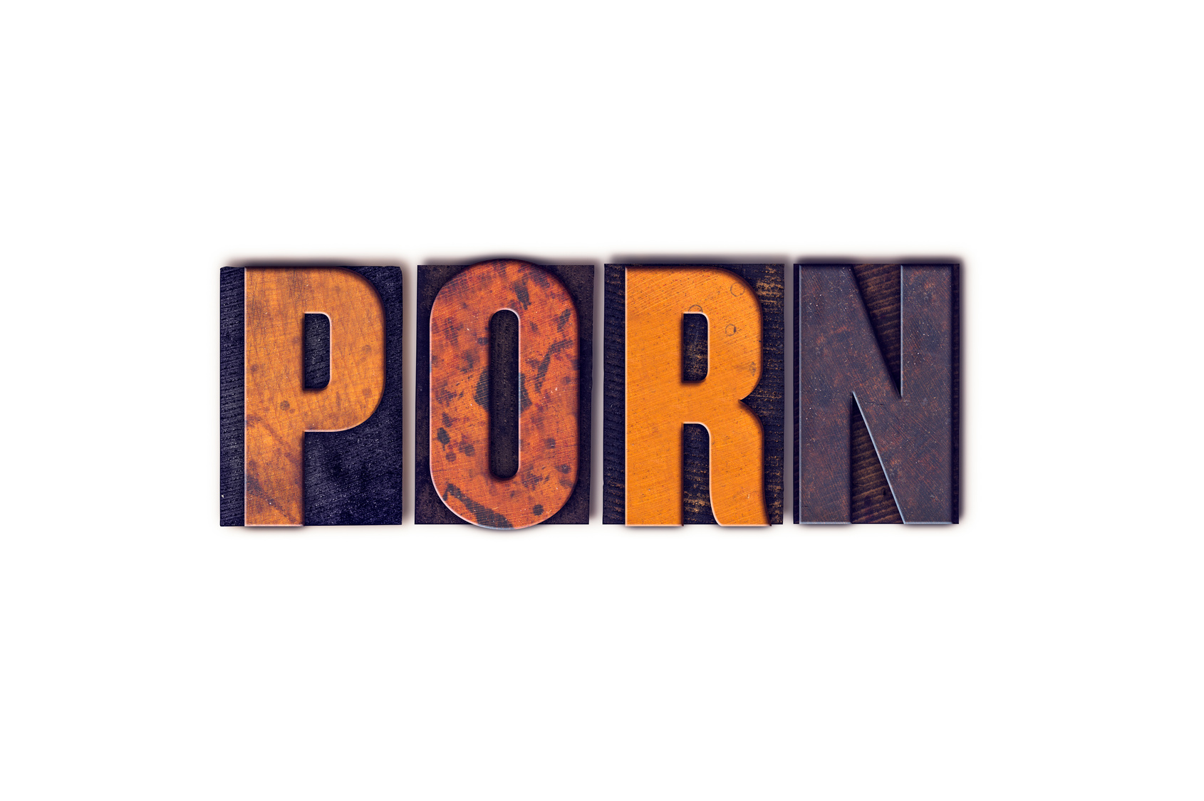Porn Concept Isolated Letterpress Type and if you need a sex crimes attorney you will find a renown one in Flint.
